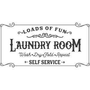 loads of fun laundry room design