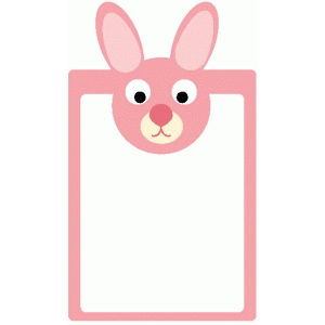 bunny journaling card