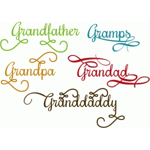 grandfather flourish words