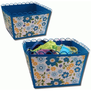 3d xl open scallop basket