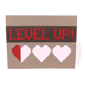 level up gamer card