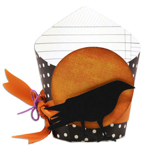 wrap box with crow