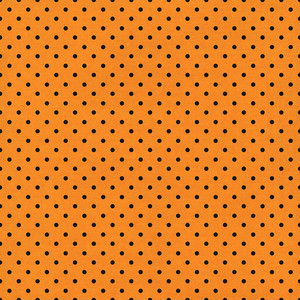 orange dot halloween paper