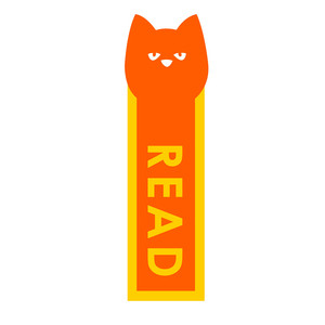 cat bookmark: read