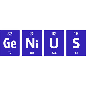 periodic table genius