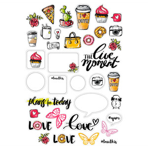 plans for today planner stickers