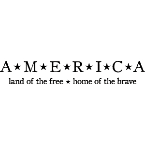 america land of the free home of the brave