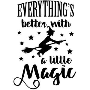 everything's better with a little magic