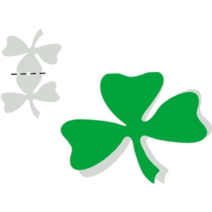 shamrock bag topper