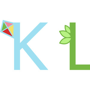 alphabet learning craft - k and l