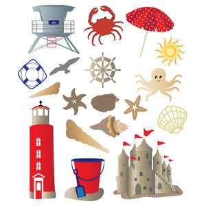 nautical planner stickers
