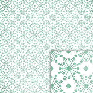 winter snowflakes background paper
