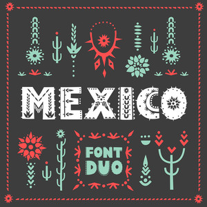 mexico font duo
