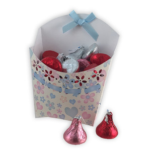 floral pattern candy box
