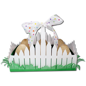 picket fence egg holder
