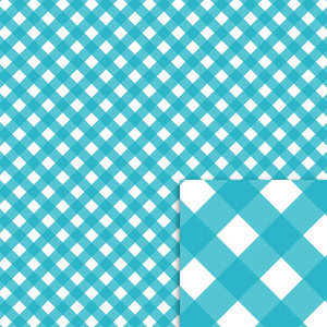 blue gingham background paper