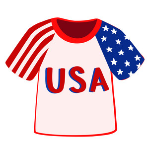 usa baseball shirt