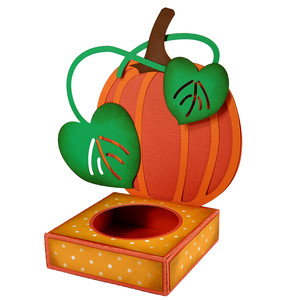 pumpkin cupcake box