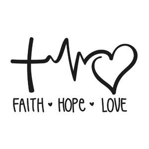 faith hope love phrase