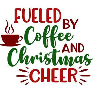 fueled by coffee and christmas cheer