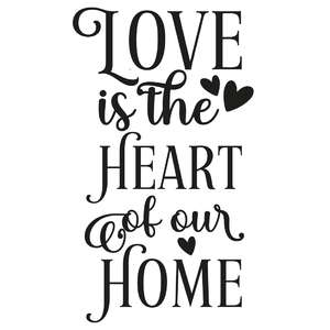 love is the heart of our home