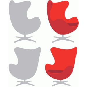 midcentury egg chair