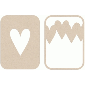 hearty hearts album cards