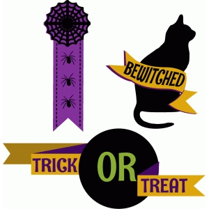 halloween ribbons