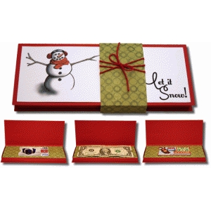 3d print and cut let it snow! gift box with inserts
