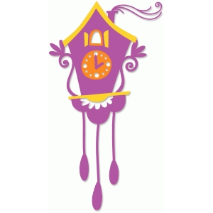 quirky cuckoo clock