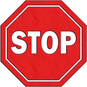 traffic sign - stop