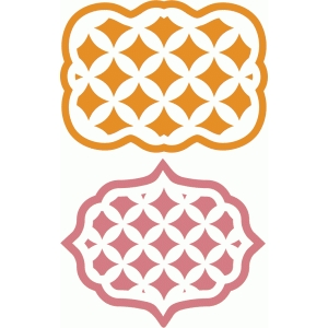 lattice pattern artisan labels