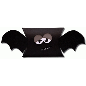 3d bat pillow box