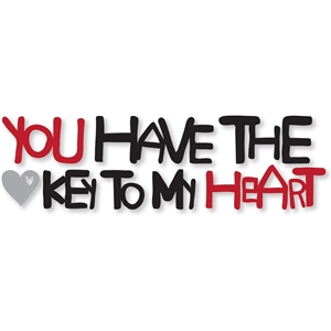 'key to my heart' phrase