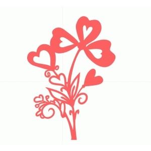 flourish hearts bouquet