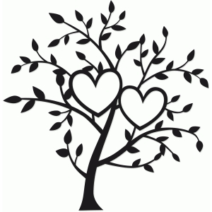 tree of two hearts