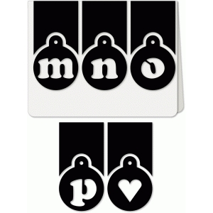 trio mnop heart alpha a6 card