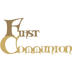 first communion phrase