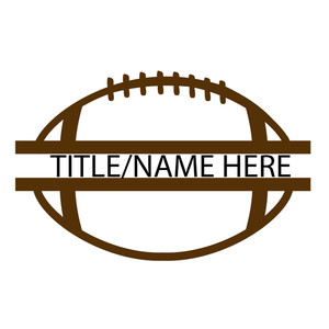 split football title
