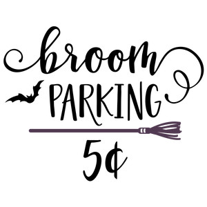 broom parking 5 cents phrase