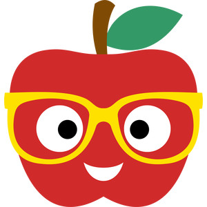 apple of glasses