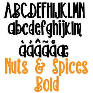 pn nuts & spices bold