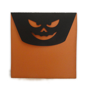 envelope pumpkin grin envelope