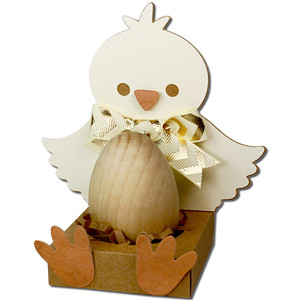 chick easter egg holder