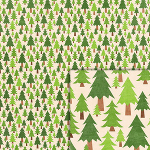 camping pine trees background paper