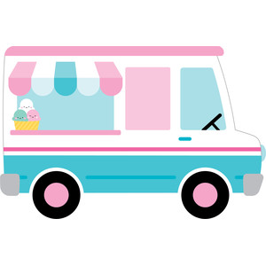 ice cream truck - sweet summer