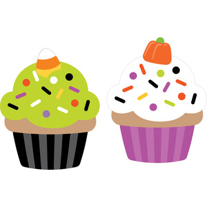 cupcakes - pumpkin party