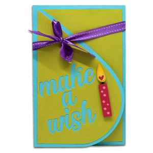 make a wish teardrop card