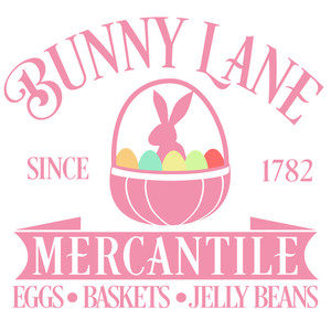 bunny lane mercantile sign