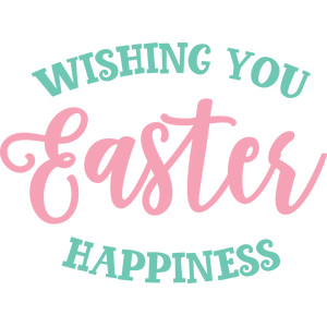 wishing you easter happiness